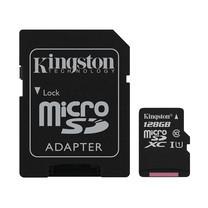 Kingston 128GB Canvas Select MicroSDXC Class 10 80r/10w MB/s Memory Card + SD Adapter (SDCS-128GB)