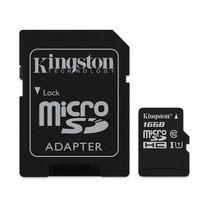 Kingston Canvas Select 16GB MicroSDHC Class 10 80r/10w MB/S Memory Card + SD Adapter (SDCS/16GB)