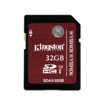 Kingston 32GB SDHC Class 10 U3 UHS-I 90r/80w MB/S (SDA3/32GB)
