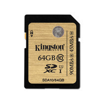 Kingston 64GB SDXC Class 10 UHS-I 90r/45w MB/S (SDA10/64GB)