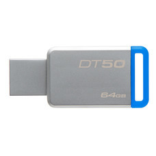 Kingston DataTravel 50 64GB USB 3.0 Flash Drive (DT50/64GB)