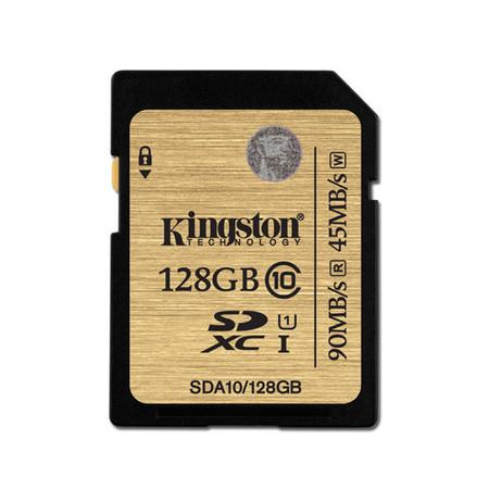 Kingston 128GB SDXC Class 10 UHS-I 90r/45w MB/S (SDA10/128GB)