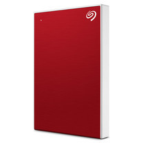 "Seagate 1TB New Backup Plus Slim External Hard Drive Portable 2.5"" USB 3.0 Plug&Play (RED)"