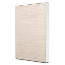 "Seagate 1TB New Backup Plus Slim External Hard Drive Portable 2.5"" USB 3.0 Plug&Play (GOLD)"