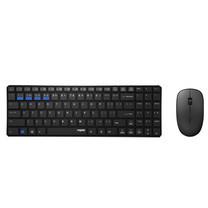 ชุดเมาส์และคีย์บอร์ดไร้สาย Rapoo 9300M Keyboard & Mouse Multi-mode Bluetooth 3.0/ 4.0 RF 2.4G (Black)