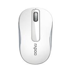เมาส์ไร้สาย Rapoo M10 Plus 2.4GHz Wireless Optical Mouse (White)