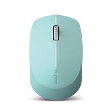 เมาส์ไร้สาย Rapoo M100 Silent Multi-mode Wireless Mouse Blue (RP-M100-BL)