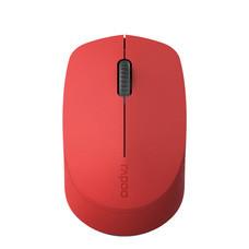 เมาส์ไร้สาย Rapoo M100 Silent Multi-mode Wireless Mouse Red (RP-M100-RD)