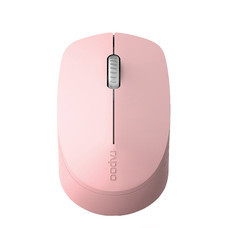เมาส์ไร้สาย Rapoo M100 Silent Multi-mode Wireless Mouse Pink (RP-M100-PK)