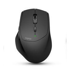 Rapoo เมาส์ไร้สาย รุ่น MT550 Multi-mode Wireless 2.4G Bluetooth 3.0/4.0 Mouse 1600dpi (MT550-BK)