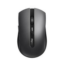 เมาส์ไร้สาย Rapoo 7200M Multi-mode Silent Wireless Mouse Bluetooth 3.0/4.0 & 2.4G (Black)