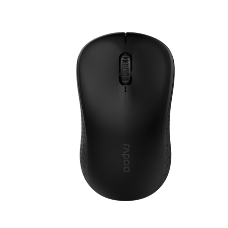 Rapoo M20 Wireless Optical Mouse 2.4GHz สีดำ (MSM20)