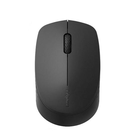 เมาส์ไร้สาย Rapoo M100 Silent Multi-mode Wireless Mouse Black (RP-M100-BK)
