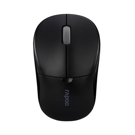เมาส์ไร้สาย Rapoo 1090PRO 2.4G Wireless Optical Mouse (MS1090PRO-BK)