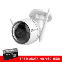 Ezviz กล้องวงจรปิด รุ่น C3W ezGuard Wall-Mounted Wi-Fi 1080P Full HD IP Camera ฟรี ! microSD ADATA 16GB