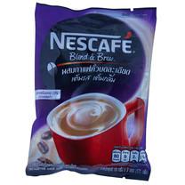 เนสกาแฟ 3 in 1 เบลนด์แอนด์บรู สูตรน้ำตาลน้อย แพ็ก 9