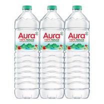 น้ำแร่ออร่า 1500 มล. (แพ็ก 6)