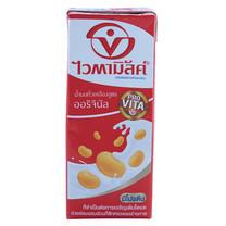 นมถั่วเหลืองUHT ไวตามิลค์ ออริจินัล 250 มล.