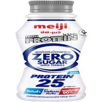นมสดพาสฯเมจิไฮโปรตีน 350 มล. สูตรไม่เติมน้ำตาล