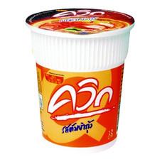 ไวไวควิกคัพ บะหมี่กึ่งสำเร็จรูปแบบถ้วย รสต้มยำกุ้ง 60 ก.