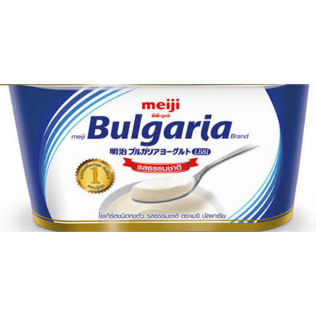 โยเกิร์ตเมจิ บัลแกเรีย 110 กรัม รสธรรมชาติ