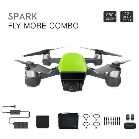 DJI Spark Flymore Combo Green