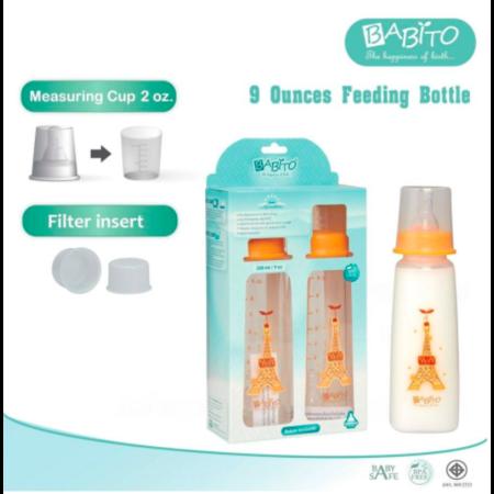 Babito ขวดนม BPA-Free ขนาด 9oz รุ่น Afrodita (แพ็ค 2)