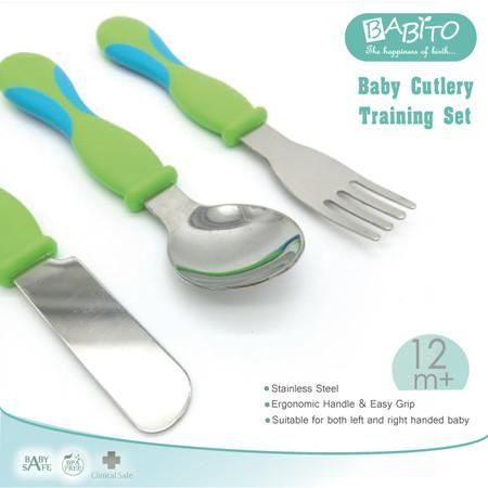 BABITO ช้อนส้อมมีด สำหรับเด็ก