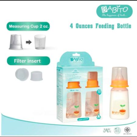 Babito ขวดนม BPA-Free ขนาด 4oz รุ่น Afrodita (แพ็ค 2)