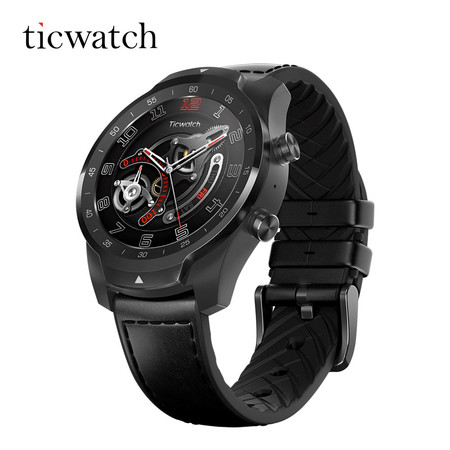 นาฬิกาสมาร์ทวอทช์ TicWatch Pro - Black