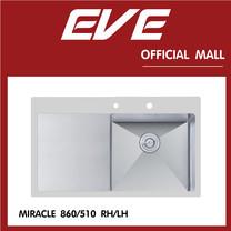 อ่างล้างจาน รุ่น MIRACLE 860/510 LH