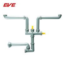 EVE ท่อน้ำทิ้งดักกลิ่น 2 ทาง มีช่องต่อสำหรับเครื่องล้างจาน รุ่น 2 WAY SIPHON SA0005