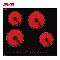 EVE เตาไฟฟ้าเซรามิค ขนาด 60 ซม. รุ่น HB60-4VC/TC (ฐานกระจกนิรภัยสีดำ)