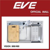 อ่างล้างจาน รุ่น VISION 800/480