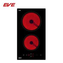 EVE เตาไฟฟ้าเซรามิค ขนาด 30 ซม. รุ่น HB30-2VC/TC (ฐานกระจกนิรภัยสีดำ)