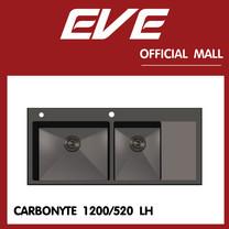 อ่างล้างจาน รุ่น CARBONYTE 1200/520 LH