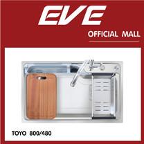 อ่างล้างจาน รุ่น TOYO 800/480