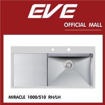 อ่างล้างจาน รุ่น MIRACLE 1000/510 LH