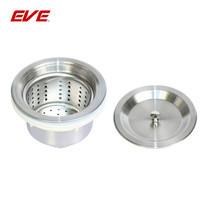 """EVE สะดืออ่างล้างจานชนิดถ้วยสแตนเลสไม่มีน้ำล้นขนาด 3.5 นิ้ว (110 มม.) รุ่น 3.5"""" WASTE FITTING WITHOUT OVERFLOW RIO"""