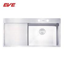 EVE อ่างล้างจานสแตนเลสสตีล 1 หลุม 1 ที่พักจาน รุ่น MIRA 1000/510 LH