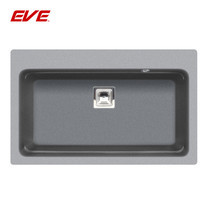 EVE อ่างล้างจานแกรนิตสังเคราะห์ 1 หลุม ไม่มีที่พักจาน รุ่น PACO 790/480 (GREY)