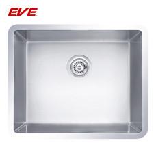 EVE อ่างล้างจานสแตนเลสสตีล 1 หลุม ไม่มีที่พักจาน ชนิดติดตั้งใต้เคาน์เตอร์ รุ่น UNDERMOUNT 544/444