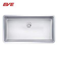 EVE อ่างล้างจานสแตนเลสสตีล 1 หลุม ไม่มีที่พักจาน ชนิดติดตั้งใต้เคาน์เตอร์ รุ่น UNDERMOUNT 750/450