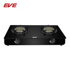 EVE เตาแก๊สอินฟราเรดตั้งโต๊ะ (2 หัว) ฐานกระจกนิรภัยสีดำขนาด 75 CM รุ่น HP75-2SIR/AGE