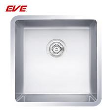 EVE อ่างล้างจานสแตนเลสสตีล 1 หลุม ไม่มีที่พักจาน ชนิดติดตั้งใต้เคาน์เตอร์ รุ่น UNDERMOUNT 444/444
