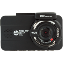 HPกล้องติดรถยนต์ รุ่น F870X CARCAMCORDER3.0WIRELESSGPSLCDSCREEN กล้องหน้าอย่างเดียว มี WiFi