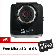 HP กล้องติดรถยนต์ รุ่นF520S BLACK CARCAMCORDER2.4-in-COLORLCDSCREENSUPER HD1296P (SONY SENSOR)