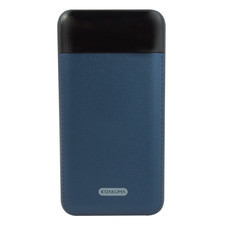 KOAKUMA KP-T1 TIME POWER BANK 10000mAh 14MM.LED,2USB BLUE