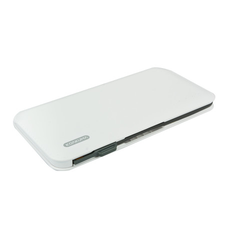 KOAKUMA L5 WALLET SLIM POWER BANK 8000MAH WHITE
