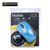 MACNUS Mouse M-18 Optical Mouse-Blue